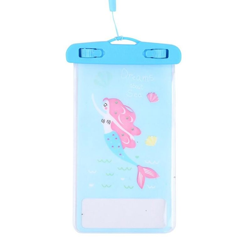 IPX65 Universal Waterproof Phone Case , Cartoon Appearance Cell Phone Dry Bag